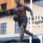 Billy Wright Staue