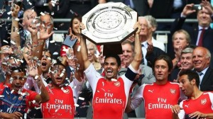 Arsenal Community shield 2014